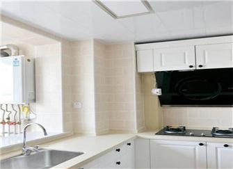 廊坊130平新房装修案例 软装还没做就够漂亮了