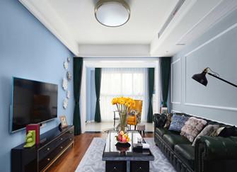 乌海装饰分享130平美式家装案例 这才叫装修