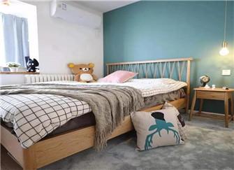 南京50平小户型装修实景图 两室一厅妥妥的