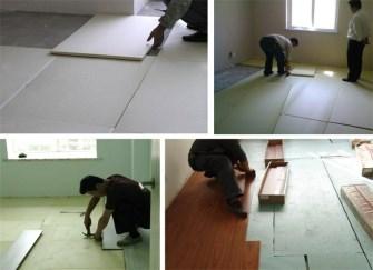 强化地板用龙骨还是用地垫宝  各自优缺点分析