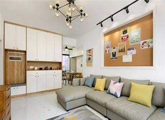 140平米旧房改造装修 如果是您家您会喜欢吗?
