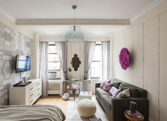 泰安30平米单身公寓装修 一个人住也要情调