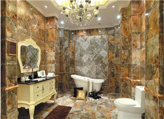 18平米卫生间装修效果图 大户型卫生间独特奢华美感