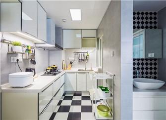 78平两室一厅装修案例 全包16万的现代北欧风格装修