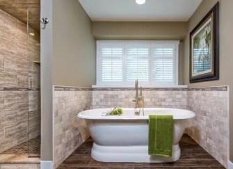 5大类型卫浴空间地面效果(多图) 引领卫浴空间地面新潮流
