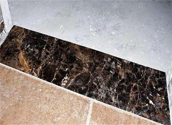 小伙伴们千万别买1米的瓷砖做过门石!