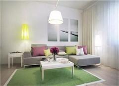 40平方小公寓装修效果图赏析  这是一个能代表自然气息的设计