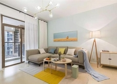 140㎡清新北欧风装修 舒适温馨居住环境