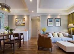 128㎡现代简约三居室 原木质感简单淡雅