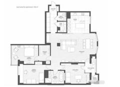 固始县158平米大户型房屋装修案例