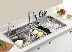 家用厨房水槽哪种好 根据生活习惯选就对了