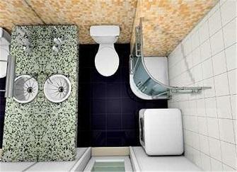 卫生间很小怎么装修才实用 用了这24个技巧舒适度爆表