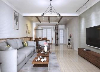 石河子100平米三室两厅装修 家有100平看这一篇就够了
