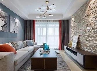 89㎡混搭装修 追求舒适与家的温馨感