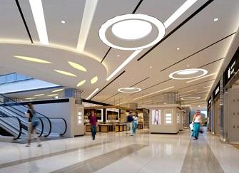 合肥大型商场装修效果图 合肥商场装饰装修验收流程
