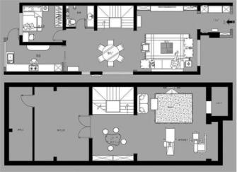北京上城郡228㎡中式别墅装修设计案例