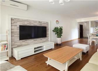 丽水白云花苑118平米现代简约风装修案例分享