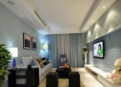 岳阳90平现代风装修案例 美观实用二居空间