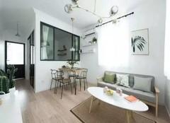 安吉旧房改造设计 60平一室改两室案例