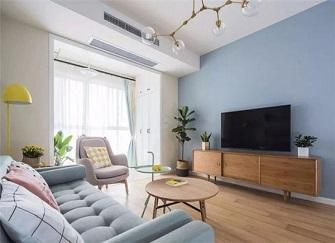 90平米5万元装修效果图 小三室装修简单实用型设计