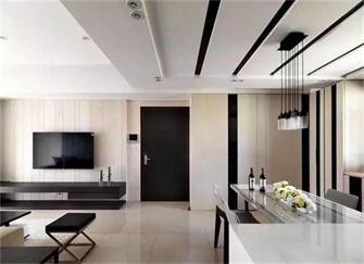 三室一厅装修样板间 三室一厅现代风装修效果图