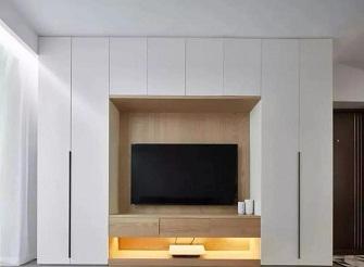 济宁绿色家园85平米现代简约风装修效果图