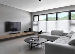 两室一厅简约中式装修效果图欣赏