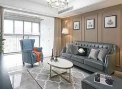 安吉三室两厅装修案例 安吉美式风格装修效果图