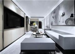 阜阳中式房屋装修案例 96平米三居室装修设计