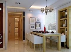 130平米三室二厅装修效果图 滨州三室二厅装修案例