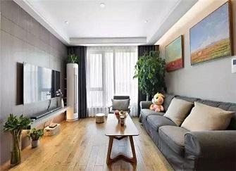 110平米三居室装修多少钱 现代简约风10万装出125平大宅
