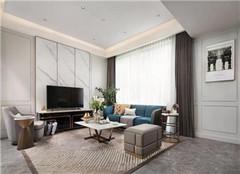 桂林别墅装修设计案例 173㎡现代简约别墅装修效果图