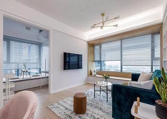 富阳90㎡2室1厅装修图片 简单的设计温馨舒适