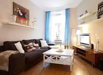 三河80平米3室1厅北欧风格装修案例