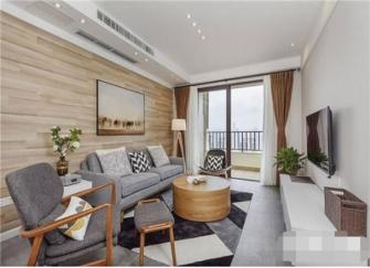 北京80平新房全包装修价格 80平现代北欧风装修效果图