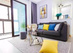 郑州89平米三室两厅北欧风格装修案例