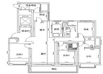 福州江南水都兰邑怎么样 144平房子简约装修15万案例