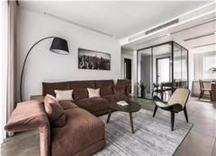 沭阳嘉瑞玫瑰园140平米三室两厅装修案例