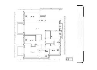 武清御溪苑装修案例 132平米三居室简约装修效果图