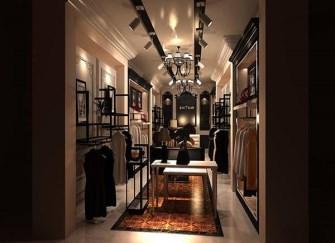 安吉小服装店装修 安吉30平服装店装修设计