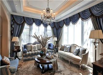 安庆别墅装修案例 240平米浪漫法式别墅装修设计