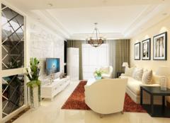 天津武清金都花园装修案例 86平米两居室现代简约风格装修