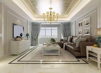 南平100平米二室一厅装修设计效果图