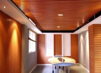 生態木吊頂效果圖集 生態木吊頂和石膏板的優勢
