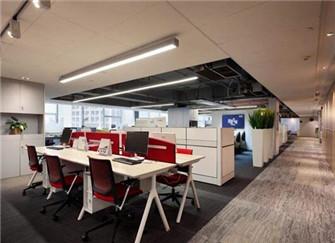 苏州办公室装修设计案例 60平米办公室装修效果图