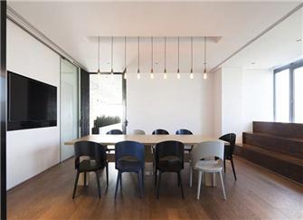 廊坊办公室装修设计 廊坊90平米办公室装修效果图