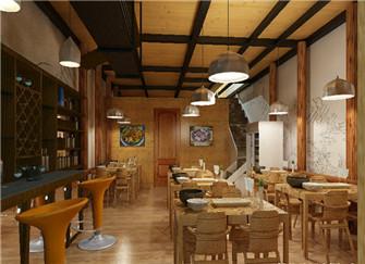 安庆餐饮店装修设计方案 安庆餐饮店装修效果图