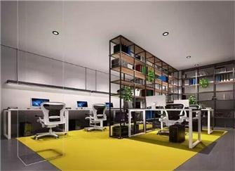 办公室装修风格哪种好 廊坊现代风格办公室装修案例