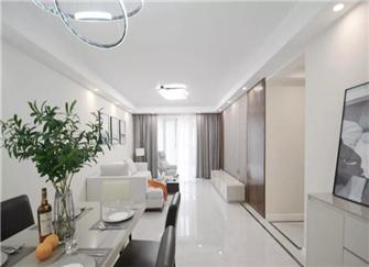 苏州旧房改造设计案例 123平方米两居室焕然一新