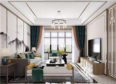 新房装修风格哪种好 芜湖新中式新房装修设计案例